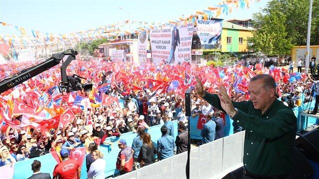 الرئيس التركي يعتبر انتخابات 24 يونيو مسألة سيادة ومستقبل بالنسبة لتركيا