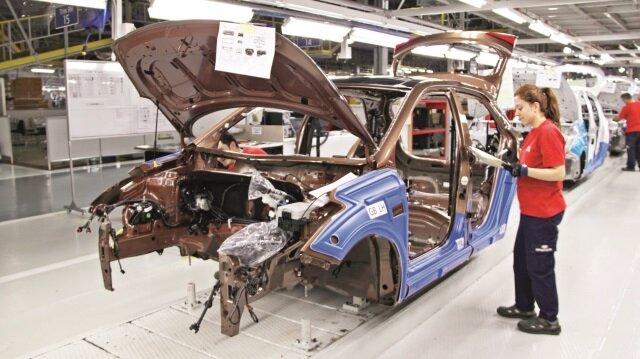 Otomotiv üretimi ilk 5 ayda azaldı
