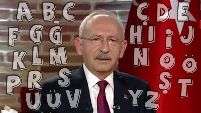 Kılıçdaroğlu'nun alfabeyle imtihanı izleyenleri güldürdü