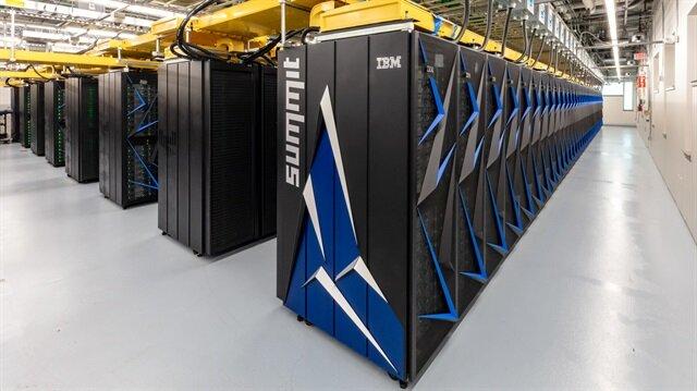 ABD'nin daha önceki en hızlı süper bilgisayarı Titan, 5. sıradaydı.