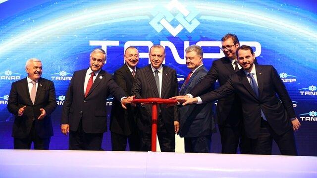 Enerjinin İpek Yolu TANAP açıldı