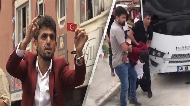 Meral Akşener'e soru soran şehit yakını tekme tokat dövüldü!