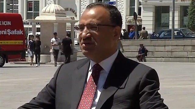Hükumet Sözcüsü ve Başbakan Yardımcısı Bekir Bozdağ.