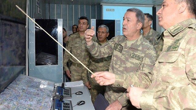 """رئيس الأركان التركي تابع بنفسه عملية""""قنديل""""العسكرية ليلة أمس"""