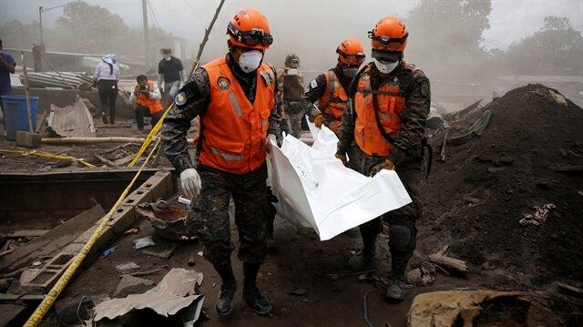 Fuego Yanardağı'nın patlaması sonucu 114 kişi yaşamını yitirirken 150'den fazla kişinin halen kayıp olduğu belirtiliyor.
