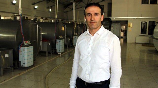 Diş hekiminden devlet desteğiyle süt işleme tesisi.
