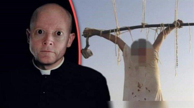 AIDS hastası olan Jose Garcia Ataulfo isimli rahip, geçtiğimiz yıl Katolik Kilise'si tarafından affedilmişti. Rahip, bugün kilise önünde asılmış halde bulundu.