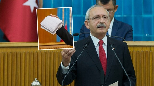 Kılıçdaroğlu, Cumhurbaşkanı Erdoğan ve yakınlarının yurt dışına para transfer ettiklerini iddia etmişti.