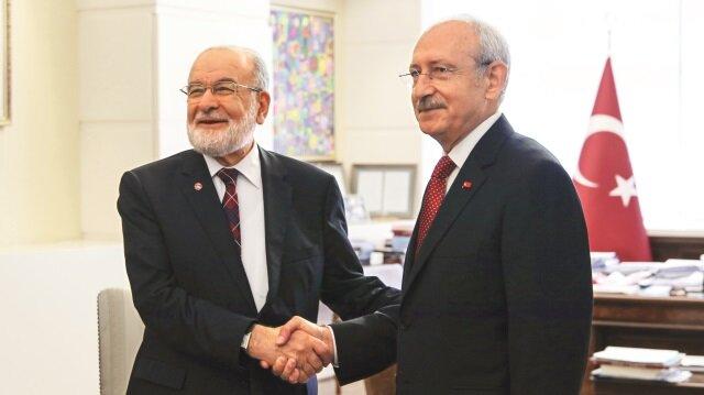 Cumhurbaşkanlığı seçimlerine 11 gün kala, siyasi partilerin kirli ittifakları iyice netleşiyor. İyi Parti, Saadet Partisi ve Demokrat Parti ile 4'lü ittifak yapan ve buna Millet İttifakı diyen CHP'nin, HDP'yi ittifakın parçası yapma girişimleri hız kesmiyor.