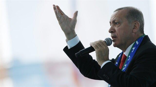 Cumhurbaşkanı Erdoğan'dan İnce'ye 'Beyaz Türk' cevabı