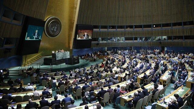 BM'de 'Filistin'e koruma' tasarısı kabul etti