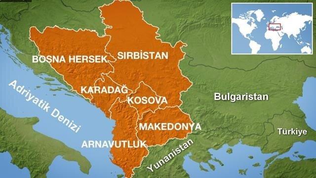 Yunanistan - Makedonya sınırı