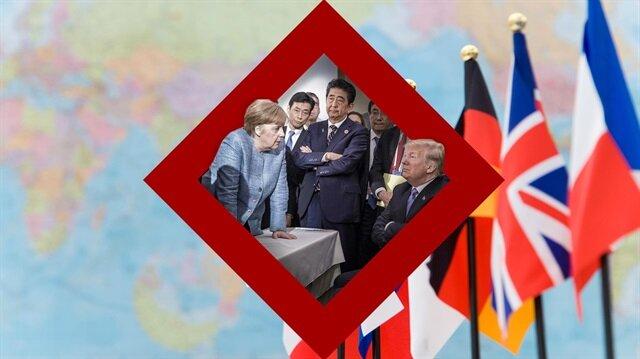 Ülkeleri birbirine düşüren G7 karesi!