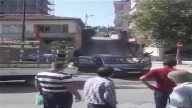 Çeyiz yüzünden çıkan silahlı çatışma kamerada