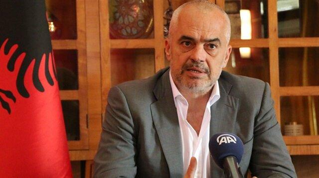 Arnavutluk Başbakanı Edi Rama Anadolu Ajansı'na konuştu.