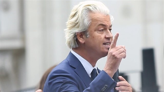 Dutch anti-Islam party leader Geert Wilders