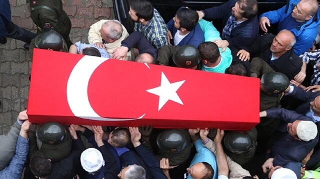استشهاد جندي تركي في هجوم إرهابي شرقي البلاد