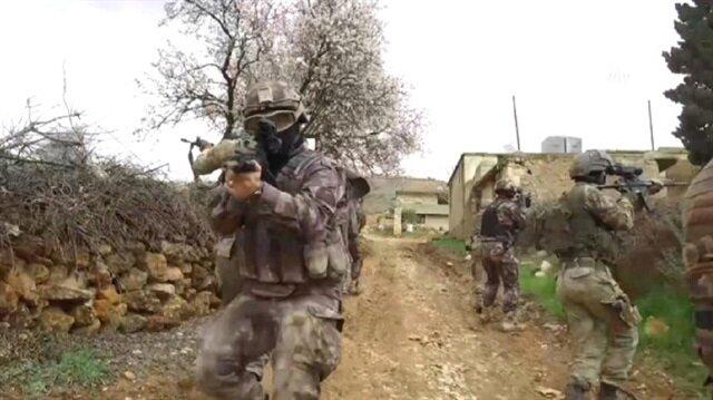 الجيش التركي يمشط مناطق واسعة في عفرين قبيل العيد