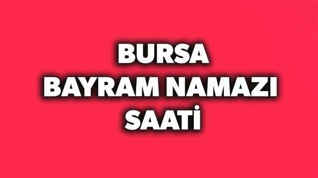 2018 Bursa bayram namazı saati açıklandı.