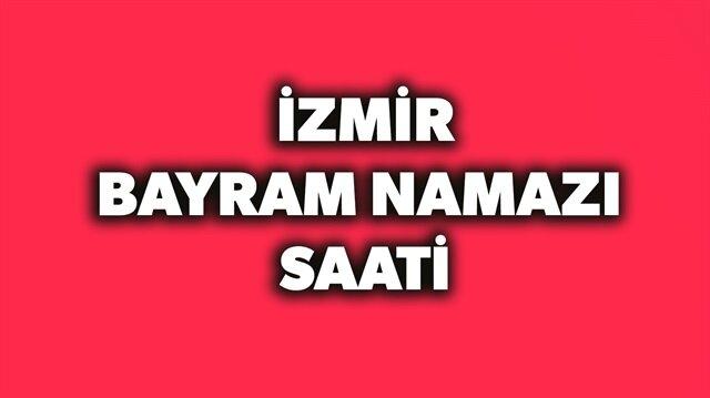 2018 İzmir bayram namazı saati açıklandı.