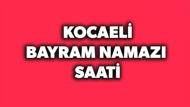 2018 Kocaeli bayram namazı saati açıklandı.