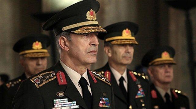 Akar'dan NATO Harekat Komutanı'na 'Münbiç' telefonu