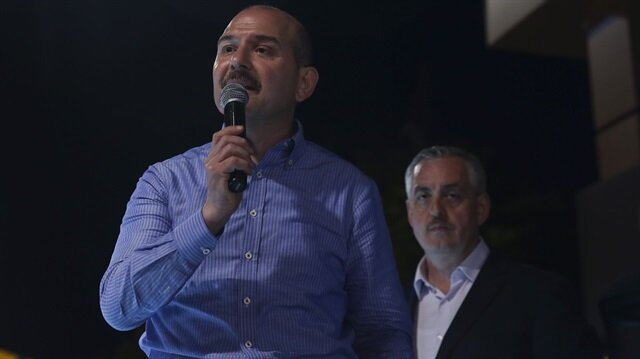 ARŞİV: İçişleri Bakanı Süleyman Soylu, seçim çalışmaları kapsamında Gaziosmanpaşa'da Kastamonular tarafından dün düzenlenen sahur programına katılarak konuşma yaptı.