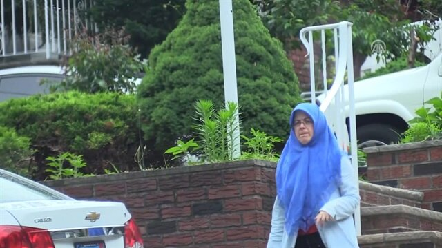 Adil Öksüz'ün eşi ABD'de böyle görüntüledi