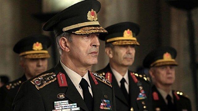 إتصال هاتفي مهم من رئيس الأركان التركي بالقائد الأعلى بالناتو