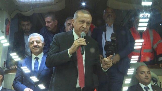 Erdoğan: Burayı yapamazlar diyorlardı