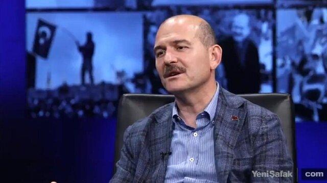 """İçişleri Bakanı Süleyman Soylu, Yeni Şafak sosyal medya canlı yayınında """"Polis Özel Harekat"""" alımlarına ilişkin önemli mesajlar verdi"""