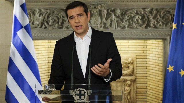 Yunanistan Başbakanı Aleksis Çipras.
