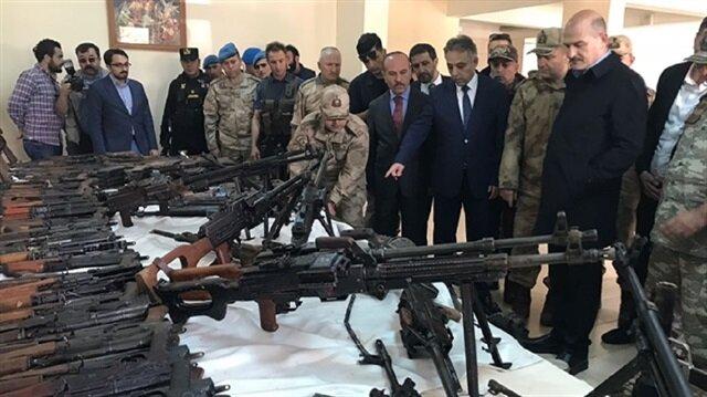القوات التركية تضبط أكبر مستوع أسلحة لـ