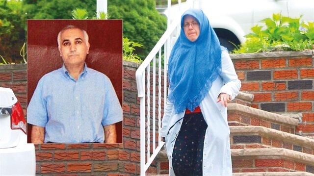 Anadolu Ajansı, Öksüz'ün eşi Aynur Öksüz'ü de New Jersey'de görüntüledi.