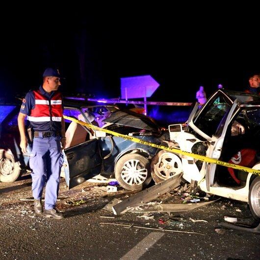 Nevşehir'de zincirleme kaza: 16 yaralı
