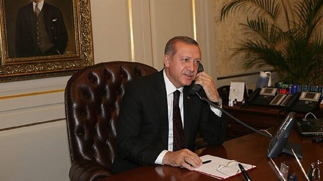 أردوغان يهنئ عبّاس والملك سلمان بعيد الفطر