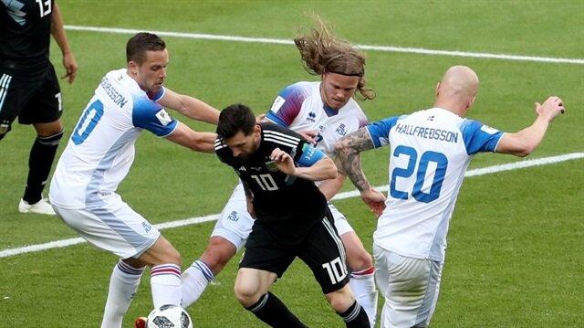 Arjantin 1-1 İzlanda