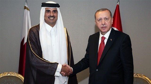 أردوغان وأمير قطر يبحثان التطورات على الصعيد الفلسطيني هاتفيًّا