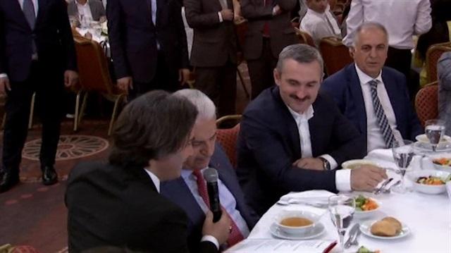 Başbakan Yıldırım, türkü söyledi
