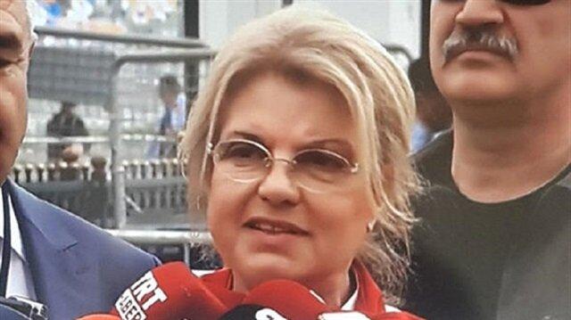 أول رئيسة وزراء لتركيا تشارك بتجمع جماهيري لـ