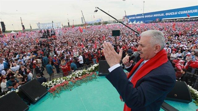 يلدريم يدعو الناخبين إلى التصويت بكثافة في الانتخابات الرئاسية والبرلمانية