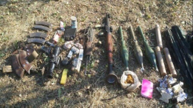 هذا ما عثرت عليه القوات التركية مع إرهابيين اثنين حيّدتهم من