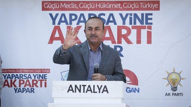 جاويش أوغلو: نستخدم الدبلوماسية والقوة العسكرية للدفاع عن تركيا
