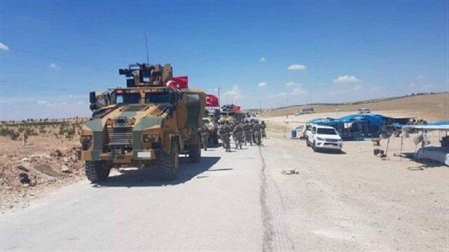 القوات التركية تصل محيط