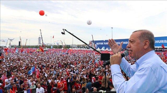 Erdoğan highlights 'Island of Democracy and Freedom'