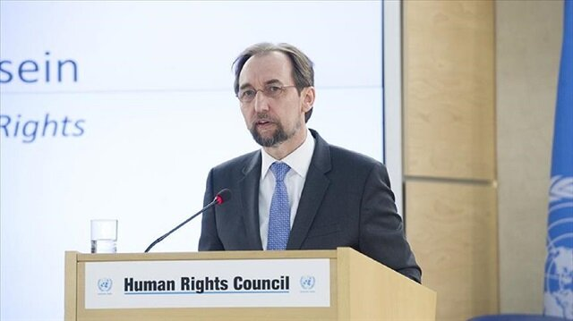 UN rights boss takes aim at US migration policy, China, Myanmar in final speech