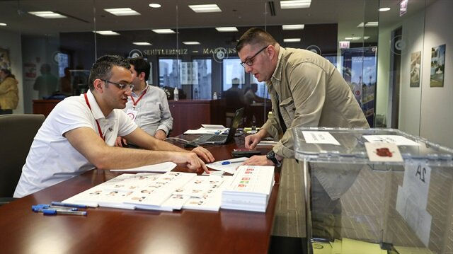 Expat voting ends for Turkish elections in US