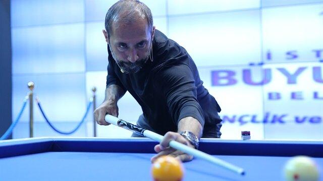 Turkish billiard player nabs 2nd in world championship