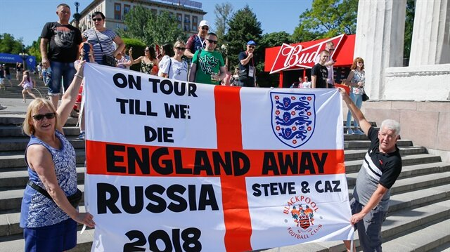 Two British men removed from World Cup train to Volgograd