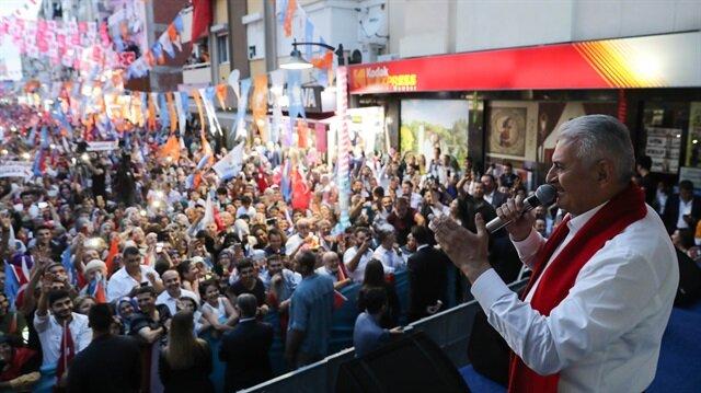 رئيس الوزراء التركي : وفرنا مليون فرصة عمل خلال عام